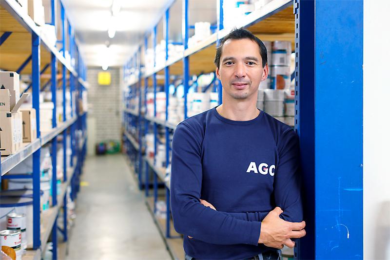 AGC Glass Nederland websitefotografie